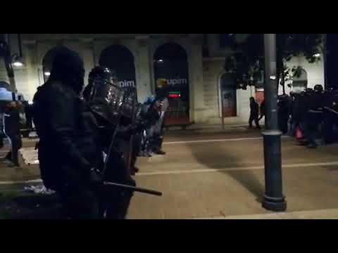 Salvini a Rovereto: la polizia carica gli anarchici