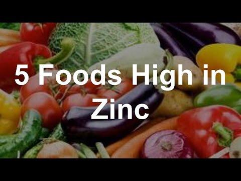 5 foods high in zinc youtube. Black Bedroom Furniture Sets. Home Design Ideas