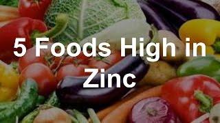 5 Foods High In Zinc