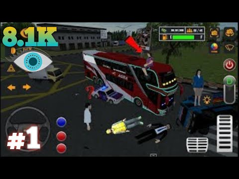 Mobile Bus Driving Simulator 2019 Update, #1 Android Gameplay #1 Android Games 2019.
