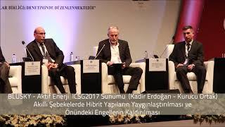 ICSG 2017  Aktif Enerji Konusma