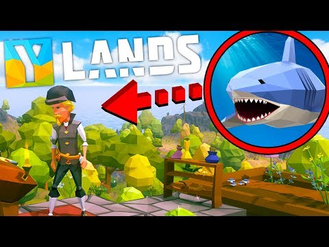 YLANDS - SURVIVING IN THIS NEW CRAFTING WORLD! #1