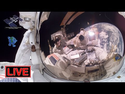 LIVE: ISS spacewalk #52 with Anne McClain and Nick Hague to install new Li-Ion batteries on the ISS!