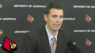 New Louisville Coach David Padgett's First Message To His Team