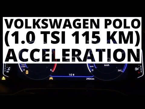 Volkswagen Polo 1.0 TSI 115 KM (AT) - acceleration 0-100 km/h