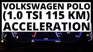 Volkswagen Polo 1.0 TSI 115 KM (AT) - acceleration 0-100 km/h