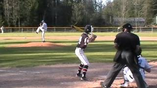 Patrick Fredrickson Gig Harbor High School Pitcher vs Yelm April 2016