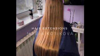 Наращивание волос микрокапсулы. Итальянская технология наращивания волос