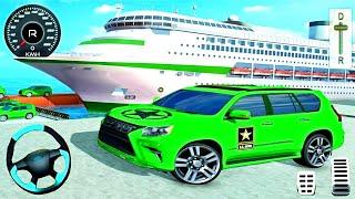 US Army Cruise Ship Transport Jeep - Prado 4x4 SUV Driving Game - Android GamePlay screenshot 5