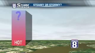 StormTrack 8 Morning Forecast July 22, 2016