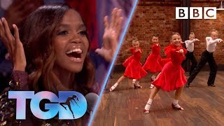 Oti so excited by incredible child dancers KLA! - The Greatest Dancer | Auditions