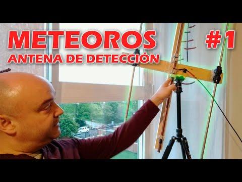 Radiodetección de METEOROS: Parte 1, antena y material necesario.