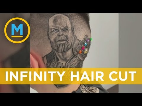 This Avengers-inspired haircut is a work of art | Your Morning