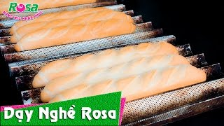 Bánh mì Việt Nam với cách tạo hình mới, đẹp - How to shape Baguette