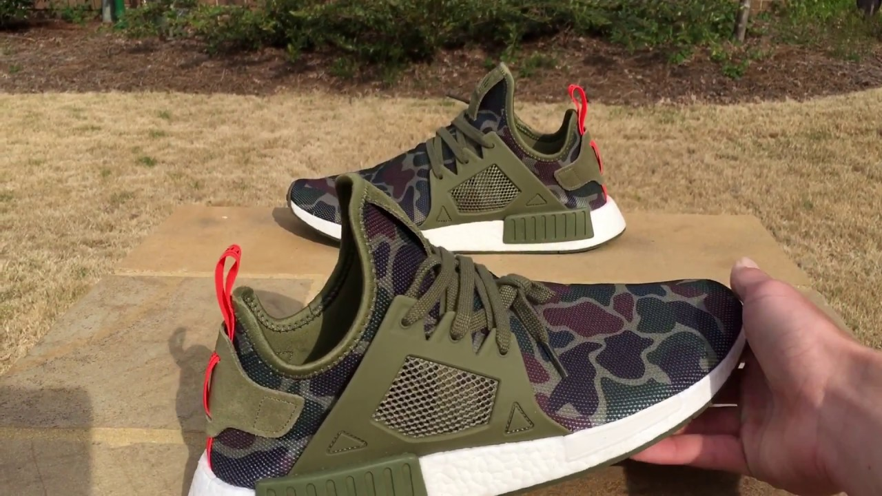 09d8d0ceb Adidas NMD XR1 Duck Camo Review and On Foot - YouTube