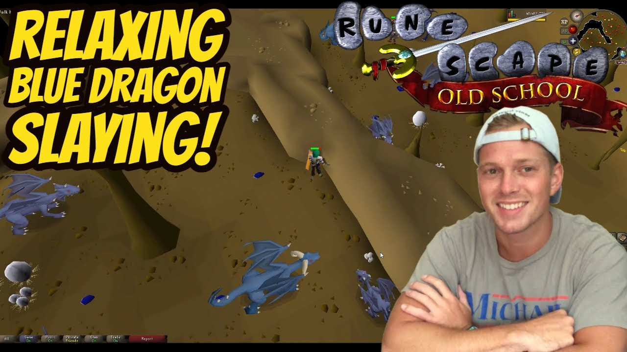 ASMR Gaming: OSRS | Relaxing Blue Dragon Slaying! - Whispering - TBT ep 78