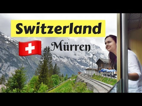 Switzerland: Mürren | Why it must be on your travel list | Vlog/video Jungfrau region