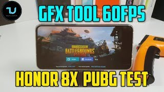 Honor 8X battery test PUBG Gameplay GFX Tool 60 FPS Extreme Mode/Kirin 710 Gaming test