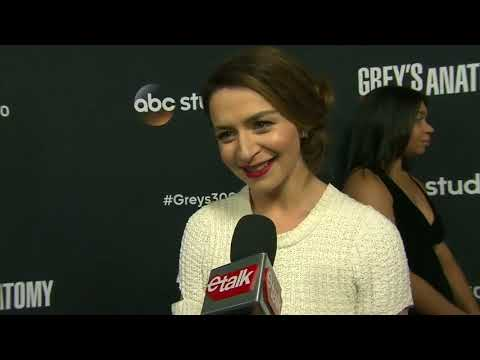 Caterina Scorsone's been watching 'Grey's Anatomy' for 14 years too