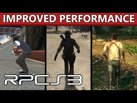 RPCS3 - Improved Performance in RDR, GoW 3, MGS4, Skate 2-3 and more!
