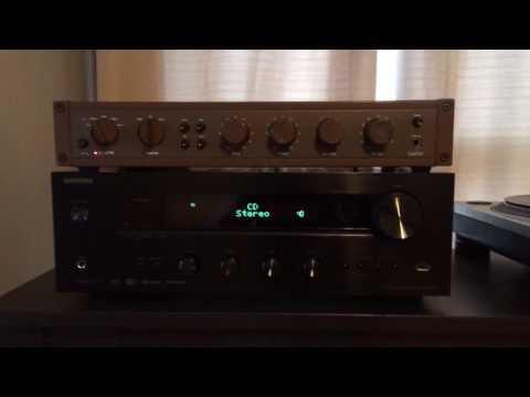 David Hafler Model 110 Preamp Demo