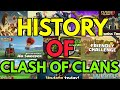 HISTORY OF CLASH OF CLANS (2012-2017) IN HINDI🤗||Subham Gaming