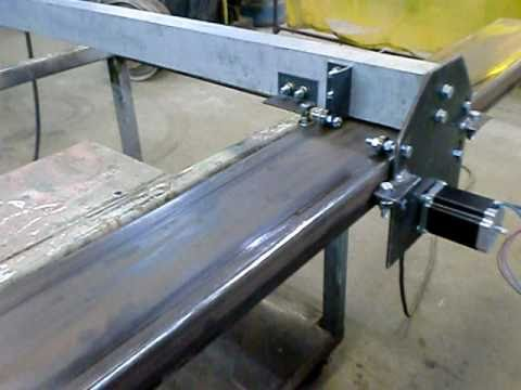 CNC plasma DIY construction - YouTube