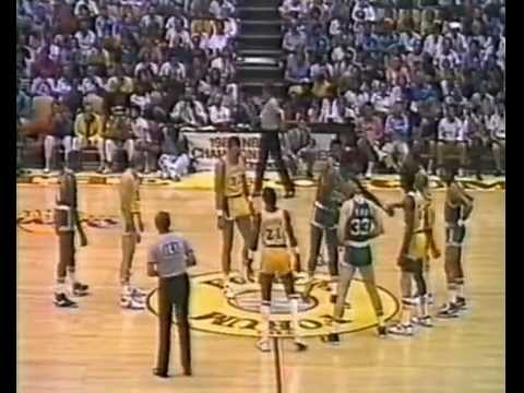 1984 NBA Finals Game 6 I LA Lakers vs. Boston Celtics