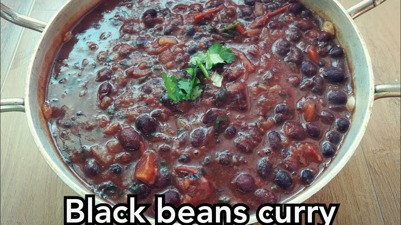 Black Beans Curry How To Make Black Beans Curry How To Cook Black Beans Indian Veg Recipes Youtube