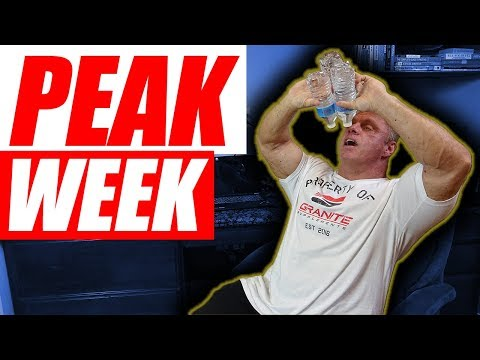 Peak Week Bible – Getting Shredded for that Stage