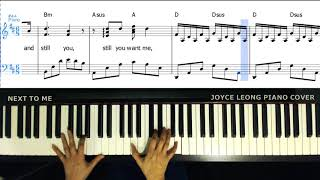 Imagine Dragons - Next To Me - Piano Cover & Sheets