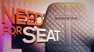 NEED FOR SEAT! Langzeit Review zum MAXNOMIC Gaming Stuhl