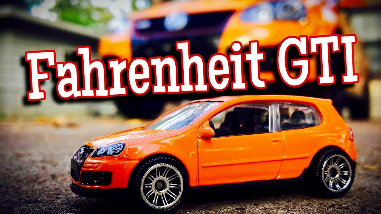 My Volkswagen GTI Fahrenheit - #650 of 1200 Made - YouTube