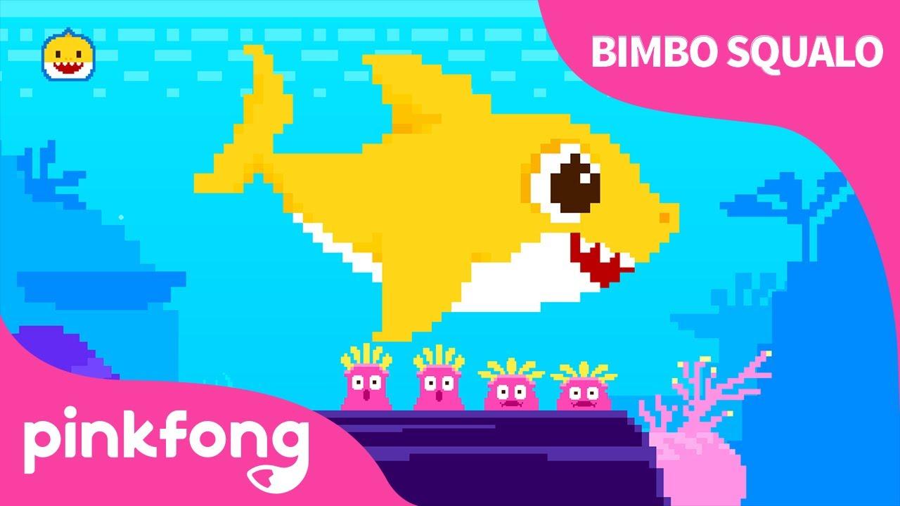 8-Bit Bimbo Squalo | Chiptune | Canzoni con Animali | Pinkfong! Canzoni per Bambini