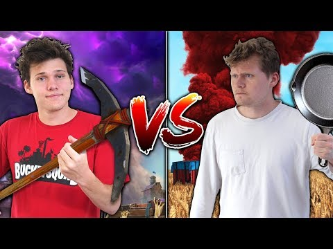 EPIC FORTNITE Vs. PUBG KILLS CHALLENGE WITH JESSER!