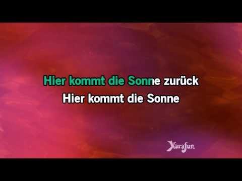 Karaoke Gib Mir Sonne - Rosenstolz *