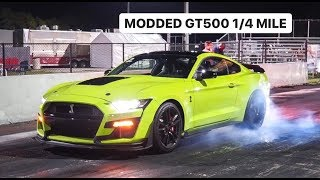 MODDED 2020 FORD GT500 VS ACURA NSX *Shocking Results*