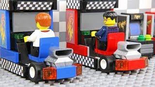 Lego Arcade Game - Go Kart Race
