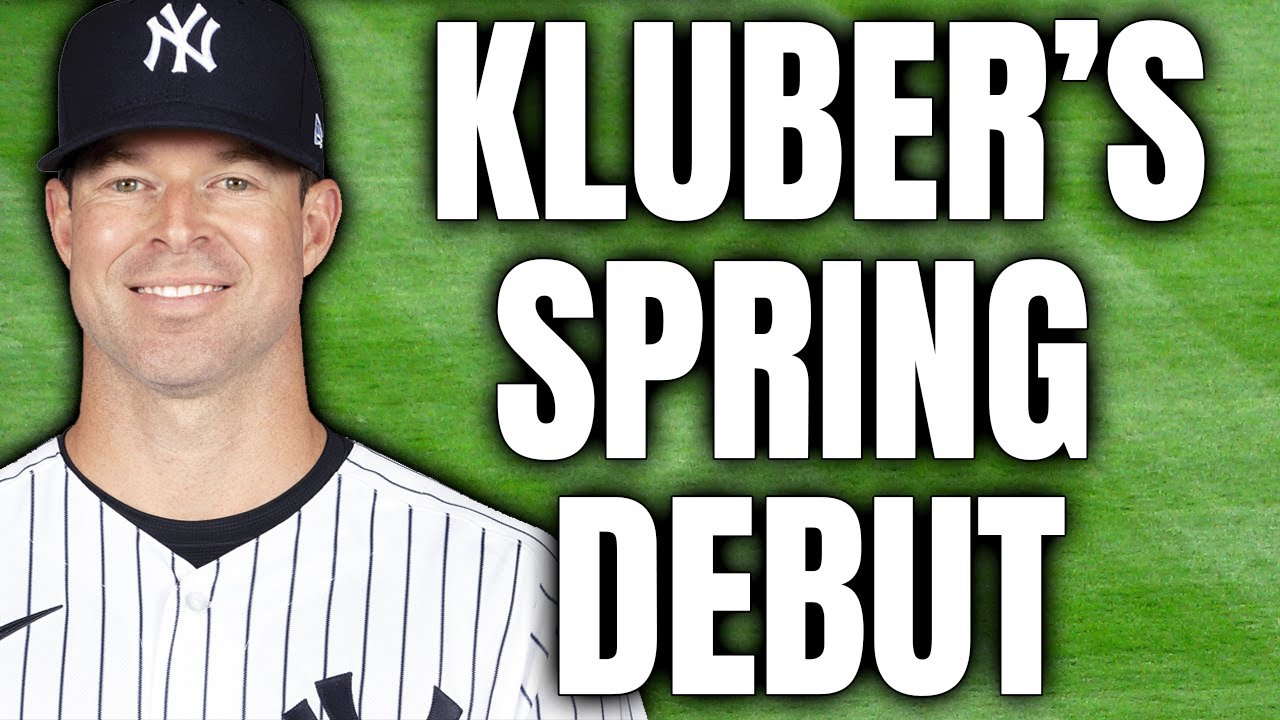 Kluber looking forward to Yankees debut