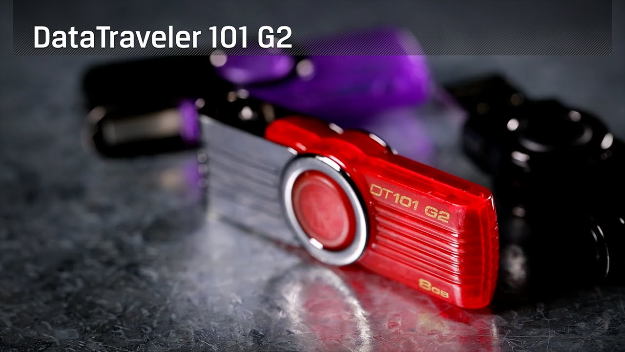 Dispositivo USB DataTraveler 101 G2 – 8GB a 32GB - Kingston