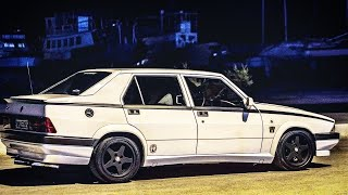 Alfa Romeo 75 2.0 Twin Spark - A night to remember