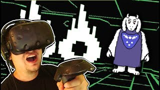 FIGHTING TORIEL IN VIRTUAL REALITY!! Undertale VR