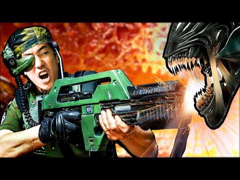 The ALIENS Game We've Been Waiting For! - Aliens Fireteam Elite