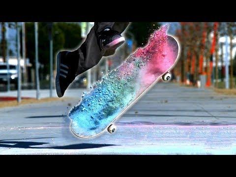 Oddly Satisfying Skateboard Tricks