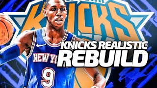2021 Free Agency! New York Knicks Realistic Rebuild! NBA 2K20