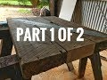 Rustic coffee table part 1