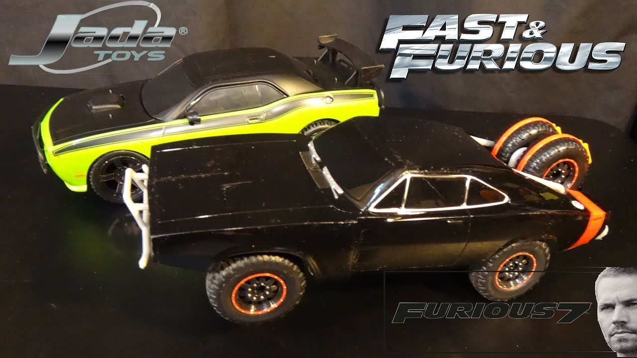 Dom S Dodge Charger And Letty S Challenger Offroading Rc