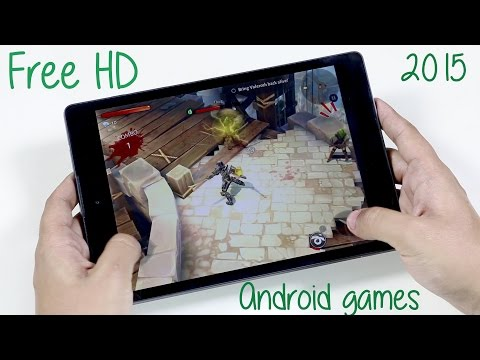 Top 10 FREE HD Android Games 2015