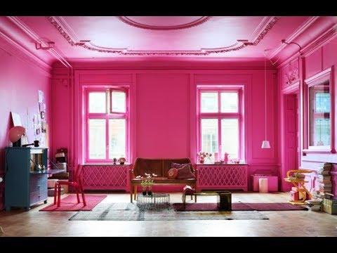 Top 40 Pink Home Decor Ideas Tour 2018 | Cute Wall Color Interior ...