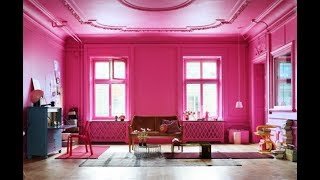 Top 40 Pink Home Decor Ideas Tour 2018 | Cute Wall Color Interior Design Haul Blush Living Room